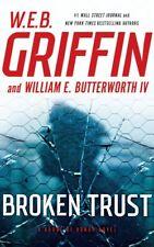 W E B Griffin BROKEN TRUST Unabridged CD *NEW* FAST Ship !