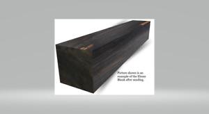 Gabun Ebenholz Holz Arbeiten 2x2x6 Messer Werkzeug Tür Griffe Gitarre Brücken