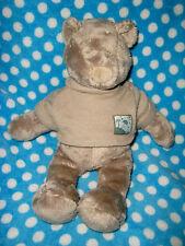 MOULIN ROTY DOUDOU  ours bear bar orso Basile et lola celadon céladon PULL 33 CM