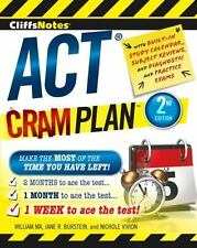 CliffsNotes ACT Cram Plan by Jane R. Burstein, Nichole Vivion and William Ma...