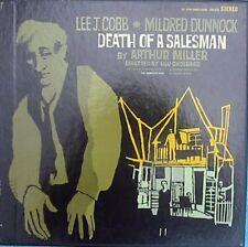 Arthur Miller Death of a salesman 3LP NM '66 Caedmon TRS3105 Play Lee J. Cobb