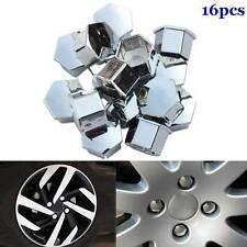 16pcs Wheel Rim Cover Tyre Screw Cap For Peugeot 207 301 307 Citroen C4l C5 C2