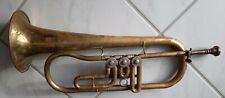 Sehr alte deutsche Trompete Flügelhorn zum Aufbereiten, sehr alt, RAR !!!