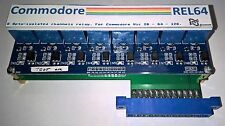 Commodore Rel64 - 8 opto-isolated channel relay