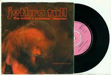"JETHRO TULL the Witch's Promise (1970 DUTCH PINK ISLAND VINYL SINGLE 7"")"