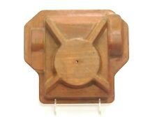 MAHOGANY WOOD FOUNDRY CASTING PATTERN SAND MOLD INDUSTRIAL SCULPTURE MODERN ART
