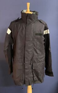 NEW Royal Navy-Issue Wet-Weather MVP Waterproof Jacket. Size 160/88.