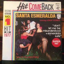 7' Santa Esmeralda > don 't let me be missunderstood < 70's DISCOTECA oro! HIT ricongiungimento