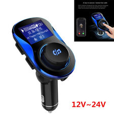 2 IN 1 Bluetooth Car Kit MP3 Player FM Transmitter Wireless Adapter USB Charger