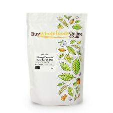 Organic Hemp Protein Powder (50%) 1kg   Buy Whole Foods Online   Free UK P&P