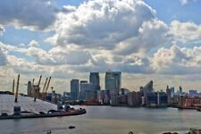 O2 Arena Canary Wharf London Docklands Skyline Cityscape Photograph Picture