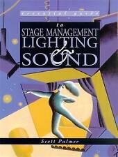 Essential Guide To Stage Management (Essential G, Palmer, Scott, New