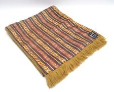 Dapper Vintage Mens Silky Patterned Wool Scarf Duggie Majestic