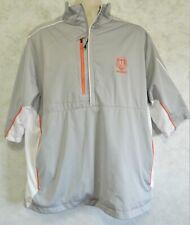 Antigua Men's Golf Jacket Desert Dry Xtra-Lite 1/2 Zip Rider Cup Medinah Size XL