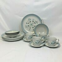 16 PIECE SET YAMAKA FASCINO DINNERWARE DINNER PLATE BOWL CUP SAUCER