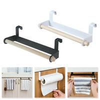 Kitchen Roll Holder Paper Toilet Towel Under Shelf Cabinet Storage Rack