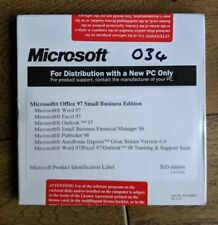MICROSOFT OFFICE 97 Small Busines Edition Word, Powerpoint etc
