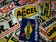Lot 20+ Racing Decals Stock Car Nascar Dragster Stickers Street Outlaws MSD JE