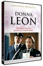 Donna Leon: (Pruebas falsas / Justicia uniforme) (NUEVO)