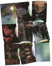 Babylon 5 Season 5 (Five) - 81 Card Basic/Base Set - Skybox 1998