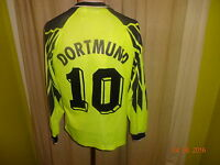 Borussia Dortmund Nike Langarm Deutscher Meister Trikot 1994/95 + Nr.10 Gr.S