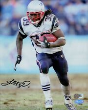Laurence Maroney New England Patriots Signed 8x10 Photo Steiner Authenticated