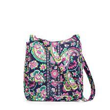 "Vera Bradley Mailbag Crossbody Bag ""Petal Paisley"" Retired Patterns NWT!"