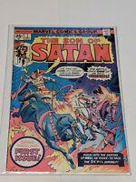 The Son Of Satan #1 December 1975 Marvel Comics