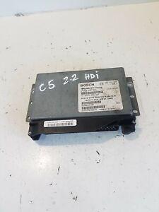 CITROEN C5 GEARBOX CONTROL UNIT-ECU 0260002923 9643926680 GENUINE 2.2 HDI 2006