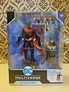 🔥 Mcfarlane DC Multiverse Build A Figure Batman & Beyond In Hand 🔥 New!