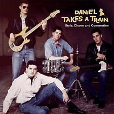DANIEL TAKES A TRAIN-STYLE. CHARM AND COMMOTION-IMPORT CD WITH JAPAN OBI F83