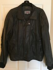 Vintage Members Only leather jacket, size 46