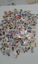 lot français de 1100 timbres auto  adhésif entre 2000 et 2020 sans double