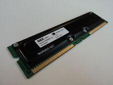 NEC RAM Memory Module 128MB PC711-45 RDRAM DIMM 184-Pin MC-4R128CEE6C-745