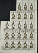 Czechoslovakia 1979, 60h Historic Rococo Clock Cto Used Part Sheet #V11251