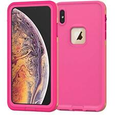 iPhone Xs Max Waterproof Rugged Hard Shell Case Similar as Lifeproof FRE Series