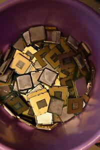 Prozessoren Defekt Intel AMD Gold Silber Bastler 5KG