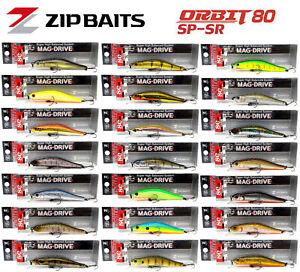 Zip Baits Orbit 80 SP SR 80mm 8.5g Depth 1m Suspending Jerkbait Made in Japan