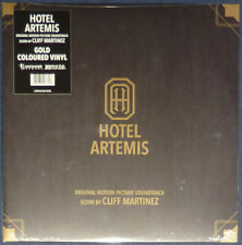 Cliff Martinez - Hotel Artemis Soundtrack on Gold vinyl.