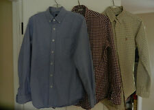 J Crew Ralph Lauren Button Down Shirt Men's Long Sleeve Cotton Small S