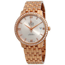 Omega De Ville Prestige 18 Carat Rose Gold Automatic Ladies Watch