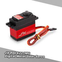 JX PDI-6221MG Metal Gear 4.8V-6V 0.16sec/60° Digital Servo Aluminums Case U5A4