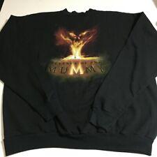 Universal Studios Mens 2XL Black Sweatshirt Revenge of the Mummy