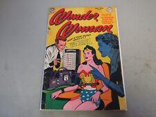 Wonder Woman #53 Comic Book 1952