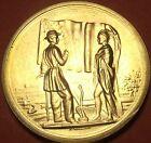 Gem Unc James Buchanan Presidential Bronze Inauguration Medallion~Free Shipping