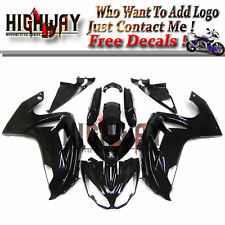 ABS Fairings For Kawasaki ER-6F Ninja 650 2012 2013 14 ABS Bodywork Gloss Black