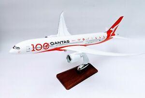 Qantas 787-9 100 th Anniversary Large Plane Model 42cm 1:160