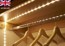 Battery Operated 1m Long 30 LED Flexible Self Adhesive Strip Light Warm White