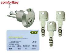Evva MCS The Best High Security Rim Cylinder grade 6,2! 3keys   sec. card