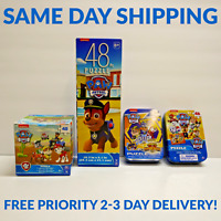 *NEW Paw Patrol Puzzle 4 Pack Mighty Pups Pup Power - SAME DAY PRIORITY SHIPPING